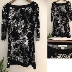 WHITE HOUSE BLACK MARKET Dress 3/4 Sleeve Sheath